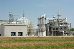 Äthanol-Anlage Stockbild