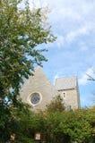 Ätherische Ansicht von Kumler-Kapelle an Miami-Universität lizenzfreies stockfoto