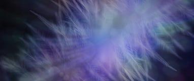 Ätherischer Bokeh-Feder-Fahnen-Hintergrund Stockfoto