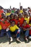 Äthiopische Ausführende, die Welt-Aids-Tag feiern lizenzfreie stockfotos