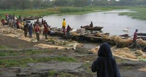 Äthiopische fishermenâs Stockfoto