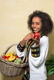 Äthiopische Frau Stockfotos