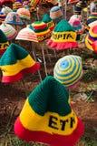Äthiopische Hüte Stockfotos