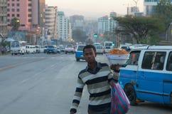 Äthiopische Straßen Lizenzfreie Stockfotografie