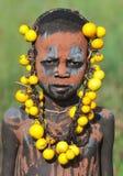 Äthiopischer junger Junge stockfoto