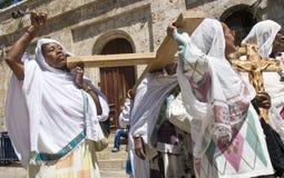 Äthiopischer Karfreitag Stockfoto