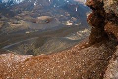 Ätna-Krater Stockbilder