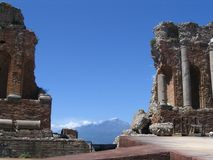 Ätna vulcan, Italien Stockfotos