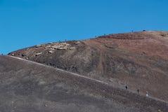Ätna-Vulkan, Sizilien Lizenzfreie Stockbilder