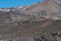 Ätna-Vulkan, Sizilien Stockfoto
