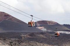 Ätna-Vulkan, Sizilien, Italien lizenzfreie stockfotografie
