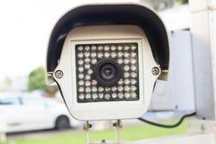 Äußere Überwachungskameraabdeckungs-Mehrfachverbindungsstellenwinkel. Stockbild