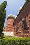Äußere Ansicht von Dalis Museum Lizenzfreies Stockfoto