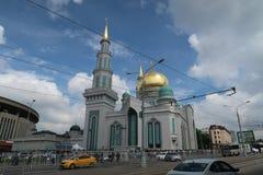 Äußere betende Religion der Moschee Stockbild