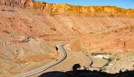 Äußere Bogen-Nationalpark US 191 Lizenzfreies Stockbild