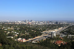 Äußere der Getty-Mitte, Los Angeles, Kalifornien Stockfotos