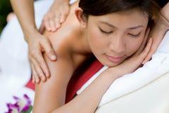 Äußere Massage lizenzfreie stockfotografie