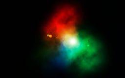 Äußerer Himmel-Effekt stockfotos
