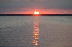 Äußerer Querneigung-Sonnenuntergang Stockfotos