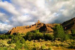 Äußeres Cody Wyoming Stockfoto