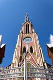 Äußeres der Dreiheitkirche Lizenzfreie Stockfotografie