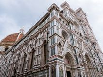 Äußeres der Kathedrale von Florenz Lizenzfreie Stockfotos