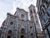 Äußeres der Kathedrale von Florenz Lizenzfreies Stockfoto