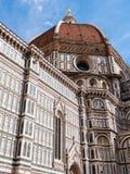 Äußeres der Kathedrale von Florenz Stockfotografie