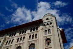 Äußeres des alten Gebäudes stockbilder