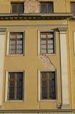 Äußeres des alten Gebäudes stockfotos