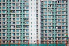 Äußeres des gekrönten Wohngebäudes Stockfotografie
