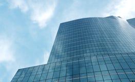 Äußeres des Glaswohngebäudes lizenzfreies stockbild