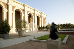 Äußeres des netten Wiesen-Museums Dallas stockfotos