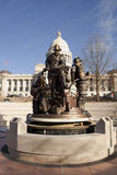 Äußeres des Staat Arkansas-Kapitolgebäudes in Little Rock Lizenzfreies Stockfoto
