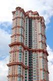 Äußeres eines hohen Gebäudes Stockbilder
