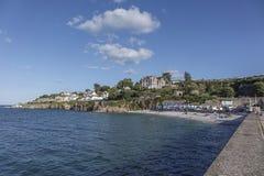 Äußeres Hafen-Hafenkai Brixham Devon England Großbritannien Lizenzfreie Stockfotos