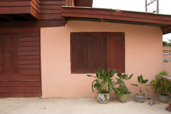 Äußeres Haus lizenzfreies stockbild