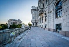 Äußeres Rhode Island State Houses, in Providence, Rhode I Stockbild