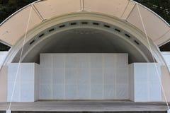 Äußeres Theater in der Stadt Lizenzfreies Stockfoto