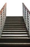 Äußeres Treppenhaus Stockfotos