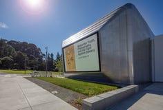Äußeres von Berkeley Art Museum und von pazifischem Film-Archiv Lizenzfreies Stockbild
