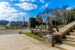 Äußeres von Blenheim-Palast in Oxfordshire, Großbritannien Stockfotografie