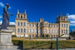 Äußeres von Blenheim-Palast in Oxfordshire, Großbritannien Stockbilder