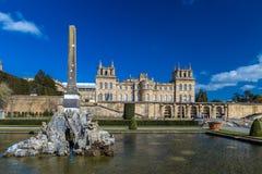 Äußeres von Blenheim-Palast in Oxfordshire, Großbritannien Lizenzfreie Stockfotografie