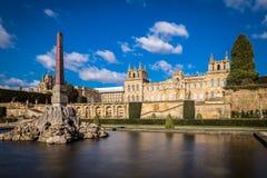 Äußeres von Blenheim-Palast in Oxfordshire, Großbritannien Lizenzfreies Stockfoto