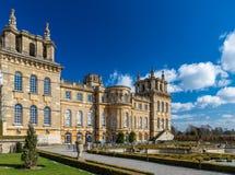 Äußeres von Blenheim-Palast in Oxfordshire, Großbritannien Stockbild