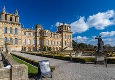 Äußeres von Blenheim-Palast in Oxfordshire, Großbritannien Stockfoto