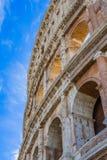 Äußeres von Colosseum, Rom, Italien stockbild