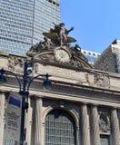 Äußeres von Grand Central -Anschluss in New York City, NY USA Stockbild