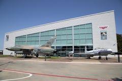 Äußeres von Grenzen des Flug-Museums Dallas stockfoto
